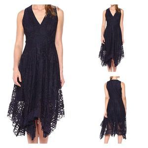Just...Taylor floral lace sleeveless dress 4 NEW